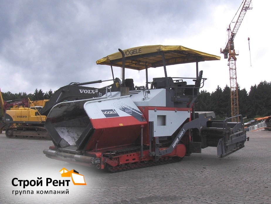 Асфальтоукладчик Vogele Super 1600-1