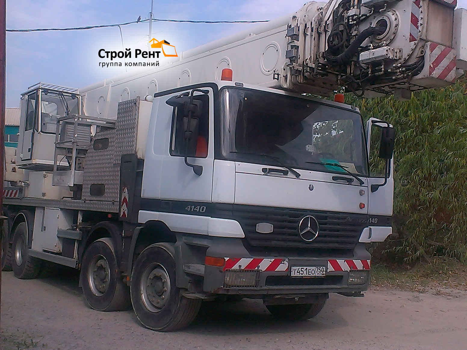 Автовышка MULTITEL J2-361 60 м