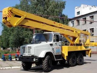 Автовышка Зил 131 ВС ВЕЗДЕХОД