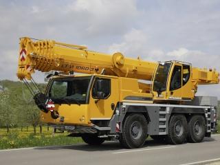 Автокран Liebherr LTM 1060