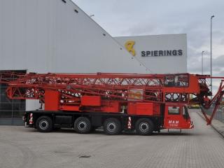 Автокран быстровозводимый Spierings SK477